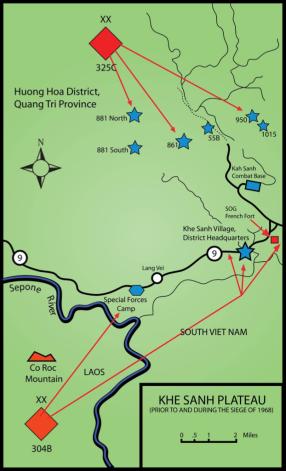 The NVA battle plan.
